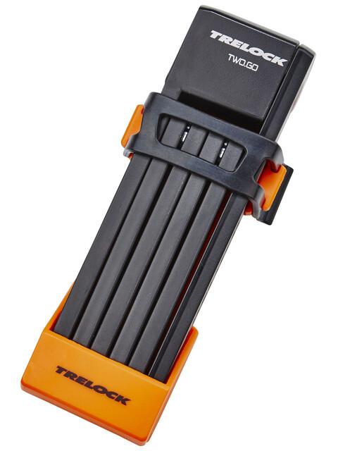 Trelock FS 200/75 TWO.GO Zapięcie 75 cm pomarańczowy